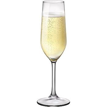 Calice Riserva champagne flute 20 cl MADE IN ITALY Bormioli set da 6 pezzi
