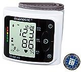 DIAGNOSTIC DR-605 IHB Fully Automatic Digital Wrist Watch Blood Pressure Monitor w/Irregular Heartbeat Indicator