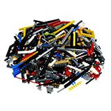 1 KG LEGO TECHNIK ca. 900 Teile Pins Lochstangen Liftarme Räder usw. Kiloware Technic