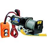 superwinch 1220210 LT2000 Utility 12 VDC cabrestante, 2000lb/907kg, 6 FT/1.8 m Soporte de control remoto
