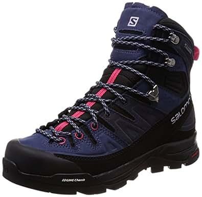 Salomon Damen X Alp High Ltr GTX W Trekking-& Wanderstiefel, Blau (Crown Blue/Graphite/Virtual Pink 000), 36 EU