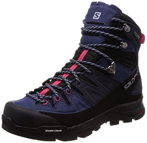 Salomon Damen X Alp High Ltr GTX W Trekking-& Wanderstiefel, Blau (Crown Blue/Graphite/Virtual Pink 000), 41 1/3 EU