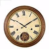 iJIAHOMIE Wandaufkleber groß Uhren Style Raum Home Dekorationen,EuropäischeStilleGang Kunst Quarzuhr
