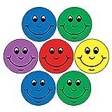 Aufkleber für die Schule mit verschiedenen Smiles, 20 mm x 105