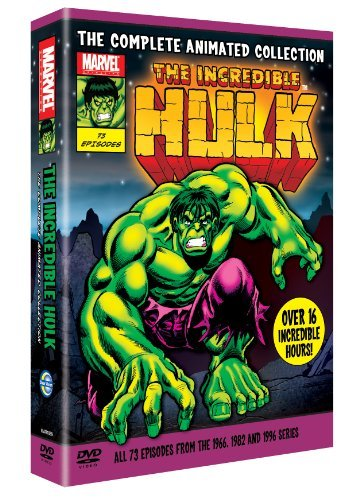 The Incredible Hulk: The Complete Animated Collection (1966, 1982 & 1996) [dvd] Picture