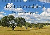Extremadura - Unbekanntes Spanien (Wandkalender 2018 DIN A4 quer): Die Extremadura, das Herkunftslandand der spanischen Konquistadoren, verzaubert Sie ... Orte) [Kalender] [Apr 01, 2017] LianeM, k.A - k.A. LianeM