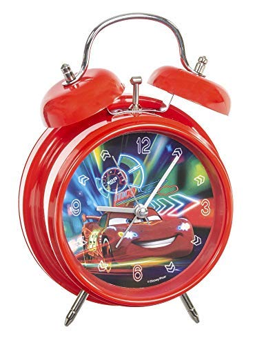 Cars- Reloj Despertador Suncity CAC301660