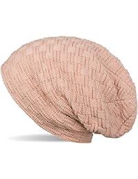 styleBREAKER chaud bonnet de fin tricot avec motif de tresse et doublure en polaire très doux, toque, unisexe 04024058