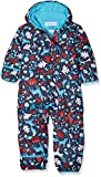 Columbia Schneeanzug für Kinder, Snuggly Bunny Bunting, Polyester, blau (red camellia deers/blau (atoll)), Gr. 6/12 Monate, 1516331