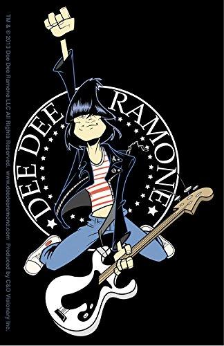 C&D Visionary Dee Dee Ramone Hop Sticker
