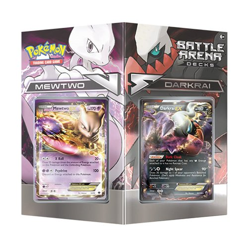 Pokémon Tcg Battle Arena Decks: Mewtwo Vs. Darkrai Card Game