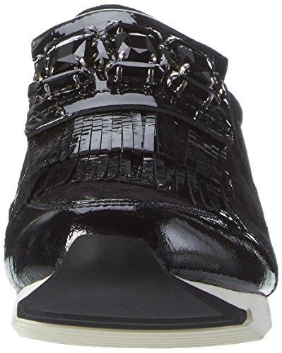 Kennel Und Schmenger Schuhmanufaktur Tiger, Sneakers basses femme Schwarz (schwarz/black Sohle Weiss)