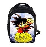 Japon anime Dragon Ball Z Sac à dos Cosplay Dragon Ball Super Son Goku Cartable Sac à dos