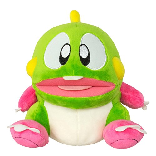 "Bubble Bobble GAYA-GE3291 22 cm ""Bubble Dragon Bob"" Plush Toy with Sound Effects"