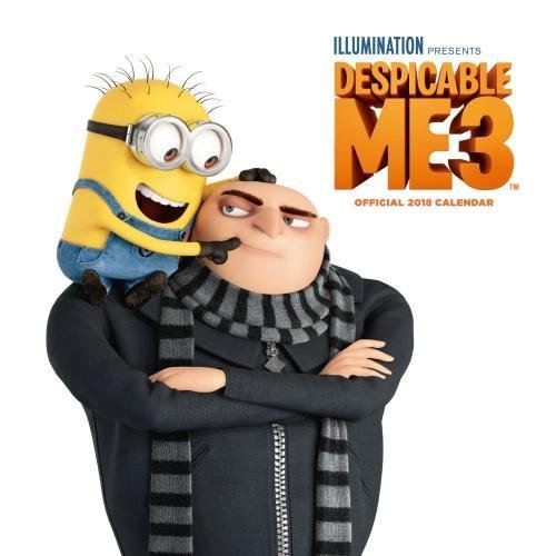 Produktbild Despicable Me 3 Official 2018 Calendar - Square Wall Format (Calendar 2018)