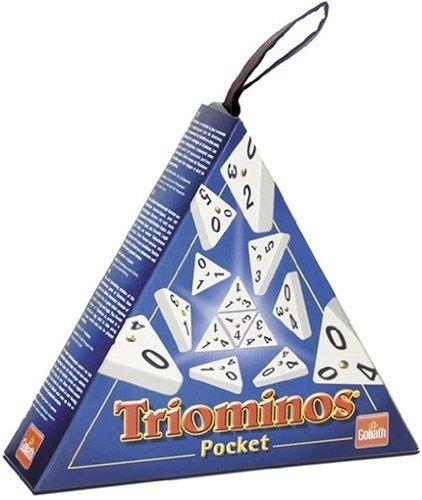 Piatnik 60640 - Triominos Pocket (Pocket-stein)