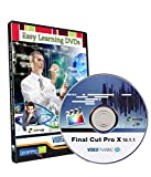 Easy Learning Learn Final Cut Pro X 10.1.1 Video Training Tutorial (DVD)