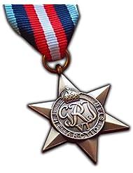 El Ártico Star Medalla Militar Signs Commonwealth Británico Militar del Ejército de premio para | | Azul Marino | RAF | réplica George VI Arctic Convoy Operaciones