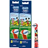 Braun Oral-B Stages Power Kids Aufsteckbürsten Micky Maus 4er Pack Bürstenköpfe Kinder EB10-2K Mickey Mouse