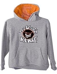Wilde Kerle Sweatshirt, grau 3500-948, Gr. 122