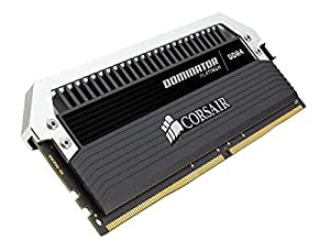 Corsair Dominator Platinum DDR4 High Performance Memory Kit (with Dominator Airflow RGB LED Cooler, 8GB (2x4GB) 3733 MHz C17 XMP 2.0)