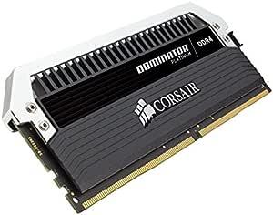 Corsair Dominator Platinum DDR4 8Go (2x4Go) 3733MHz C17 XMP 2.0 Kit de Mémoire Haute Performance avec RGB Airflow Ventilateur
