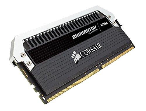 Corsair CMD128GX4M8B3200C16 Dominator Platinum Kit di Memoria per Desktop a Elevate Prestazioni, DDR4 128 GB, 8 x 16 GB, 3200 MHz, Nero