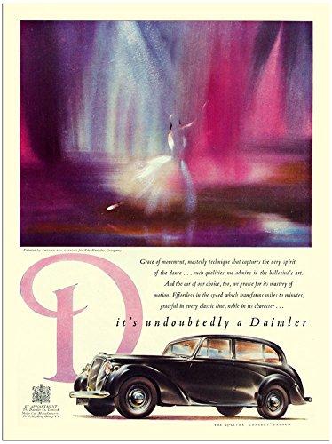 daimler-car-advert-1950s-30x40cm-art-print