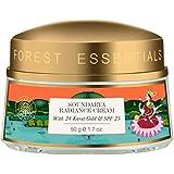 Forest Essentials Soundarya Radiance Cream with 24K Gold, 50g
