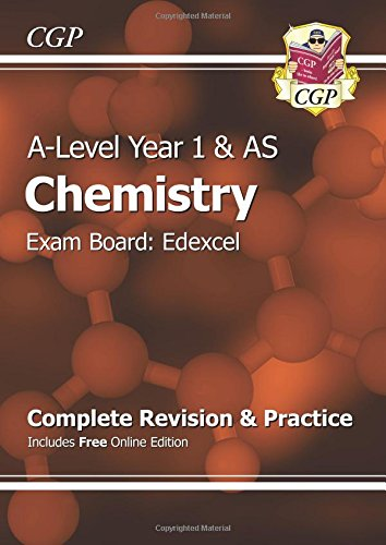New A-Level Chemistry: Edexcel Year 1 & AS Complete Revision & Practice with Online Edition: Exam Board: Edexcel