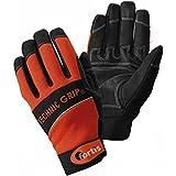 Format 4317784785365–Handschuh technicgrip. Gr. 10. Orange/schwarz. FORTIS