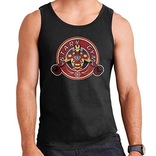 Iron Man Stark Gym Men's Vest Black