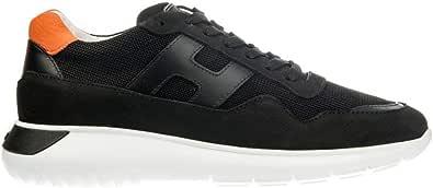 Hogan Sneakers Uomo HXM3710AJ10IGK660D Pelle Nero
