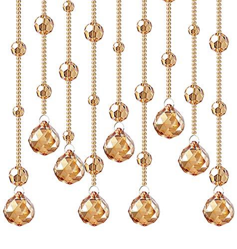 Dekorative Tür String Vorhang Perlen, Tür Tropfen Perlen Kette Vorhang, Kristall Quaste Bildschirm Dekoration, DREI Arten,C (Teal Glitter Hintergrund)