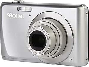 Rollei  Rollei Powerflex 550 Full HD Digitalkamera (14 Megapixel, 5 fach opt. Zoom,  6,9 cm (2,7 Zoll) Display, USB 2.0) silber