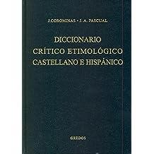 Diccionario critico etimologico 4 (me-r) (DICCIONARIOS)