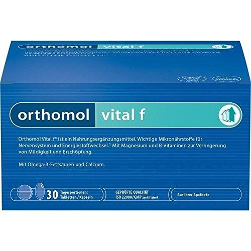 Orthomol Vital F Tabletten/Kapseln Kombipackung, 30 Stück, 1er Pack  (1 x 168 g)