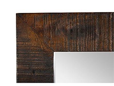 Woodkings® Wandspiegel Woodend, 45x150cm, Holzrahmen, Flurmöbel, Ganzkörperspiegel, vertikal oder horizontal zu hängen