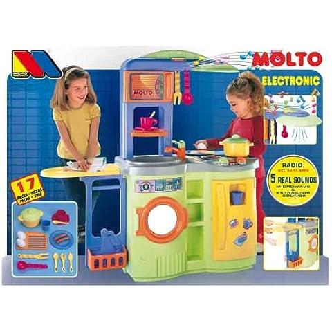 Moltó - Cocina lavadora son sonidos 98 cm