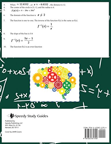 Pre-Calculus Questions and Answers (Speedy Study Guides: Academic)