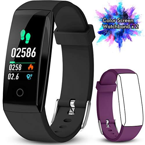 Winisok Fitness Tracker, Braccialetto Fitness Cardio IP67 Record di Movimento GPS, Impermeabile Orologio Cardiofrequenzimetro Fitness Activity Tracker Pedometro Contapassi e Conta Calorie