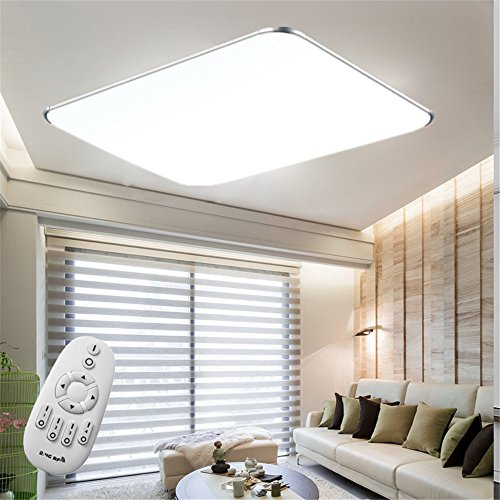 SAILUN® 48W LED Deckenleuchte Dimmbar Möbeleinbauleuchte Deckenlampe Wandlampe Wohnzimmer Leuchte