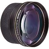 Téléobjectif haute définition 2.2x 72 mm de Polaroid Studio Series, inclut une housse d'objectif et les couvercles d'objectif