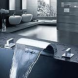Retro Deluxe FaucetingWashbasin Hahn Drei teilige set Waschtisch Armatur eine vollständige Messing Mode bad Armatur drei Sätze von Warm- und Kaltwasser Lh -8176