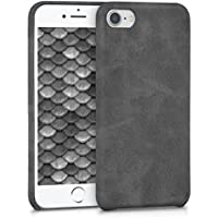 kwmobile Funda para Apple iPhone 7/8 - Carcasa de [Cuero sintético] para