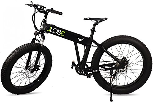 LLobe E-Bike Mountainbike Bullrock, 26 Zoll, 7 Gang, Heckmotor, 374 Wh 66,04 cm (26 Zoll)