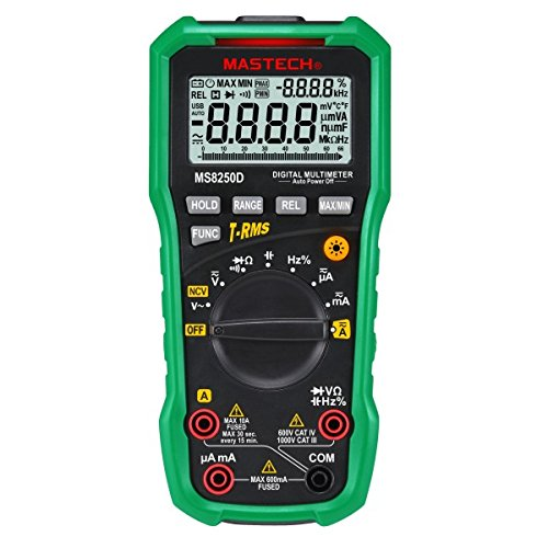 True RMS Digital-Multimeter MASTECH MS8250D -
