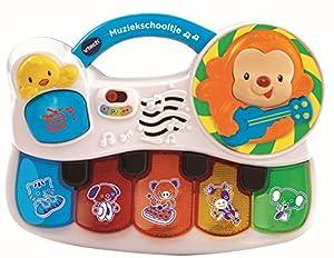 VTech Baby Muziekschooltje Niño/niña - Juegos educativos, Niño/niña, 3 año(s), Holandés, De plástico, CE