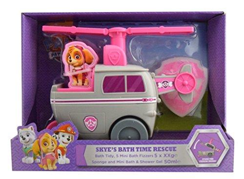PAW PATROL k30055Skye Bath Time Rescue Tidy Spielzeug Geschenk-Set