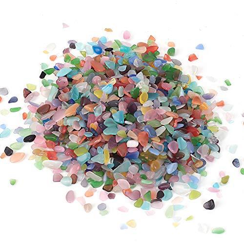 Pierre Brillante en Cristal de Tumbled Chips Crushed Stone...